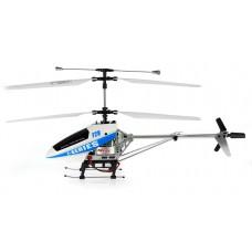 MJX F28 F-628 4CH Helicopter met LCD PRO Scherm Wit-blauw